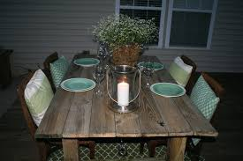 Plans For Wooden Patio Furniture by Outdoor Coffee Table With Metal Bucket Base