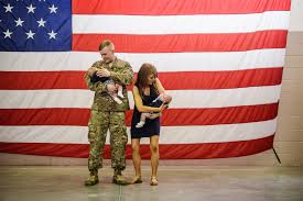 u s military and civilians are increasingly divided la times