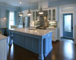 modern classic kitchen cabinets kitchen blue kitchen walls kitchen ceiling lighting simple