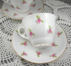 vintage china with pink roses royal kent teacup saucer 2 sets bone china pink roses