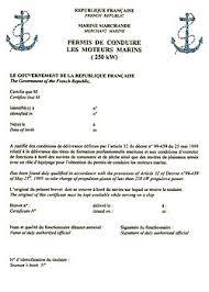 bureau permis de conduire permis bateau plaisance wikipédia