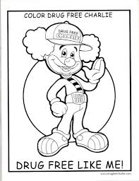 drug awareness coloring pages funycoloring