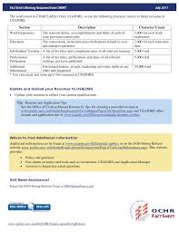 Best Resume Format For Usajobs by Usa Jobs Info U0026lt Helpful U003e