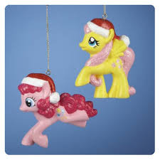 my little pony figural christmas ornament set kurt s adler my