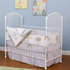 four poster iron crib in white from poshtots baby kid stuff