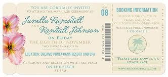 boarding pass invitations boarding pass wedding invitation
