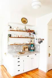 Floating Shelves Kitchen by Kitchen Floating Live Edge Shelves