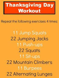 thanksgiving day at home workout at home workouts home workouts
