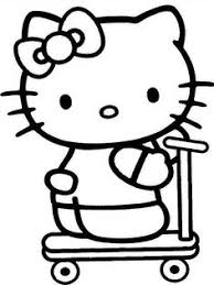 kitty coloring pages card craft free printables prints