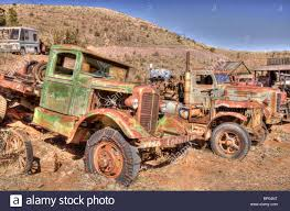 Vintage Ford Truck Junk Yards - old trucks stock photos u0026 old trucks stock images alamy