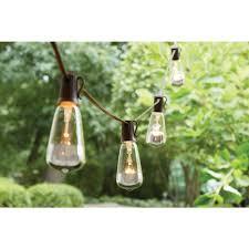 Bird String Lights by Hampton Bay 10 Incandescent Light Outdoor Dipped Edison Bulb
