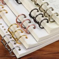 metal binder rings images Metal storage binder ring for spiral notebook paper classic jpg