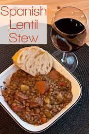 Stew Ideas Spanish Lentil Stew Lentejas Sustaining The Powers