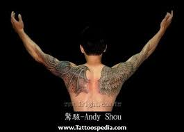 wing tattoos on arm