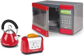 Microwave And Toaster Set Casdon Morphy Richards Microwave Kettle U0026 Toaster Set Role Play