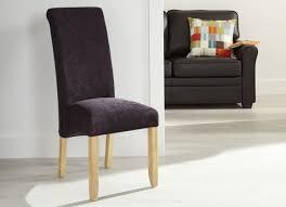 Aubergine Dining Chairs Buy Serene Kingston Aubergine Plain Fabric Dining Chair With Oak
