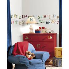 roommates 5 in x 11 5 in nintendo super mario build a scene alphabet peel and stick wall decal