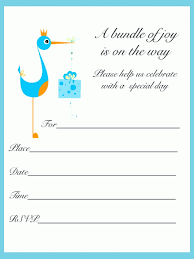 invitation printable baby shower invitation template