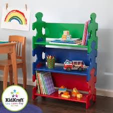 amazon com kidkraft puzzle book shelf primary toys u0026 games