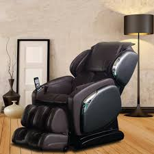 Brown Leather Recliner Chairs Titan Osaki Brown Faux Leather Reclining Massage Chair Os 4000ls