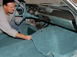 How To Refurbish Car Interior How To Vintage Mustang Replace Carpet Mustang Monthly