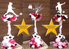 Centerpieces Sweet 16 by Triad Soccer Centerpieces Sweet 16 Mitzvah Birthday Party
