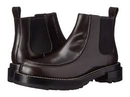 pull on motorcycle boots marni pull on ankle boot in black for men lyst