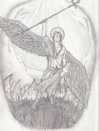 st michael tattoo draft by tbn8r on deviantart