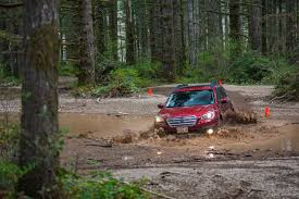 offroad subaru outback muddy off road test drive 2015 subaru outback on everyman driver
