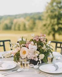wedding reception table centerpieces 37 pink wedding centerpieces martha stewart weddings