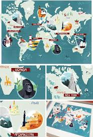 Personalized World Travel Map by 22 Best Maps Animals In The London Underground Images On