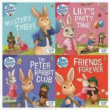 rabbit collection rabbit animation collection beatrix potter 4 books set