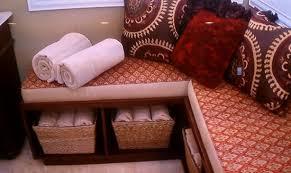 Diy Storage Bench Seat Plans by Corner Storage Bench Seat Plans Storage Decorations