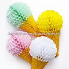 tissue paper decorations cone tissue paper decoration honeycomb lanterns