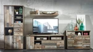 Wohnzimmerschrank Beleuchtung Kommode Driftwood Sideboard Highboard Schrank Vintage Antik Woody