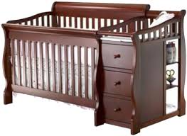 Sorelle Tuscany 4 In 1 Convertible Crib And Changer Combo Sorelle Tuscany 4 1 Convertible Crib Changer Baby S Place