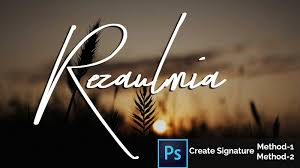 design photography logo photoshop how to create own photography signature logo watermark in photoshop