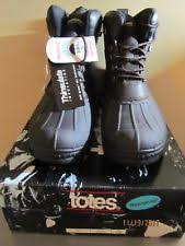 s totes boots size 12 s leather totes ebay
