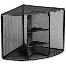 shelving unit white wooden l shaped desk shelving ideas corner