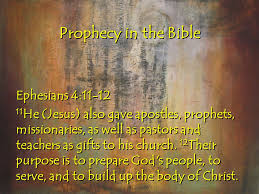 Prophecy Is For Edification Exhortation And Comfort Moving In The Prophetic Prophecy In The Bible God Promised That