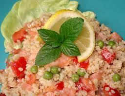 comment cuisiner le boulgour salade de boulgour au saumon fumé