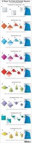 ways to wear short scarf for a more fashionable look 9 ways to fold a pocket square infographic
