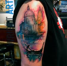Pennsylvania Travel Tattoo images Watercolor tattoo get your next watercolor tattoos with joel jpg