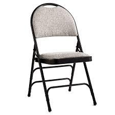 Cushioned Chairs Samsonite Comfort Series Steel U0026 Fabric Folding Chair Case 4