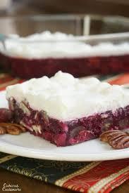 pecan cranberry jello salad curious cuisiniere