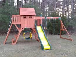 Backyard Discovery Monticello Playset Gallery Swing Set Installation Ma Ct Ri Nh Me