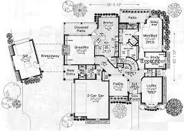 4 bedroom house plans 2 story house plans with rear entry garage