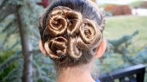 spiral twist buns updos cute girls hairstyles makeup videos