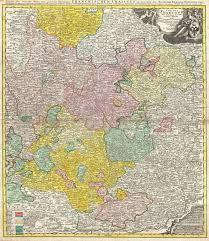 Map Of Bavaria Germany by File 1720 Homann Map Of Franconia Germany Bavaria Bamberg
