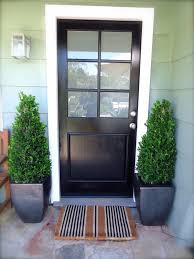 Modern Front Entry Doors In African Mahogany Chad Womack by House With Black Front Doors With Glass Pilotproject Org